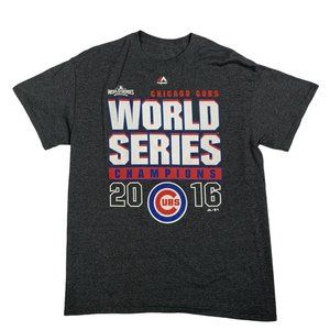 Chicago Cubs Majestic T-Shirt S/S World Series 16'